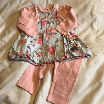 3-6 Month Minnie Mouse 2 Piece